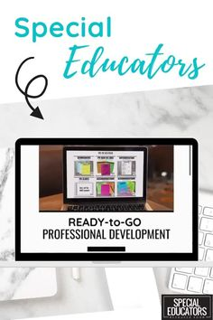 Ready to get organized for the school year? Tired of the stacks of special education paperwork? Imagine finding exactly what you need all in one organized space. Time-saving trainings and instant downloads ready to help maximize your teaching time. Special Educators Resource Room membership.