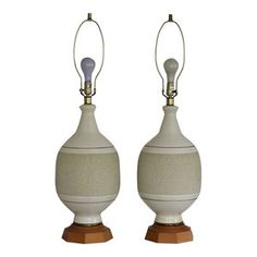 MCM Pottery Lamps available at www.jackson-kline.com