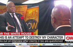 Here's Another One . . . . After the Plagiarism of Melania, the Criminal Contempt of Sheriff Arpaio, the FBi investigation of Paul Manafort, and Trumps Violation of Election Law with AG Bondii . . . When will it end?    Pro-Trump Pastor Storms Out of CNN Interview After Being Called Out for Exaggerating His Bio September 3rd, 2016