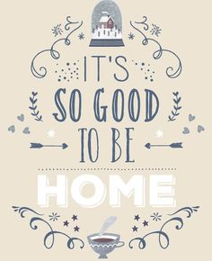 It's so good to be home | Flairathome.nl #FlairNL #FlairQuote #Quote