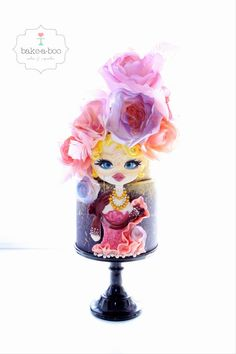 Venetian Carnival Collaboration  by Bake-a-boo Cakes (Elina)