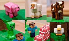 WIP: Minecraft - Yummy Pixels - Video game cakes