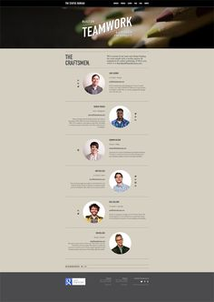 Webdesign - Join the team Web Layout, Page Layout, Layout Design, Layouts, One Pager Design, Book Design, About Us Page Design, Creating A Newsletter, Profile Website