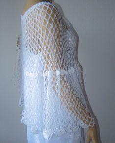 89c423364544 Wedding Shawl Bridal Shawl with Pearl Beads Fish Net Shawl