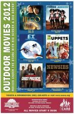 Outdoor Movies at SCERA Shell Outdoor Theatre!!!
