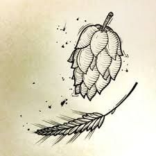 Image result for barley and hops tattoo