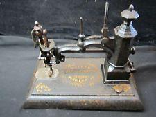 Antique Charles Parker Sewing Machine Cast Iron Meriden Ct.