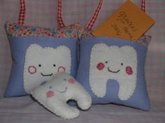 Toothfairy pillow pattern and tutorial