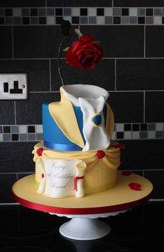 Fab Beauty and the Beast cake!