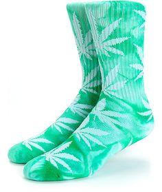 22af82ab12d HUF Plantlife Tie Dye Crew Socks