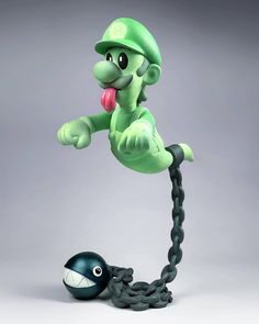 Phantom Ghost Luigi By Luaiso Lopez | The Toy Chronicle