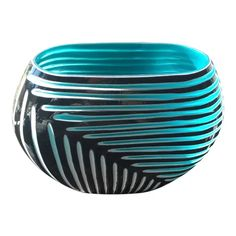 Items similar to the Red German Modernist Vase With Black Lava Glaze Design Modern Glass, Home Collections, Vase, Plates, Tableware, German, Gifts, Sun, Design