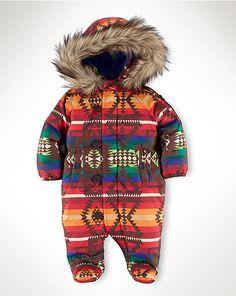 Beacon Bunting - Outerwear  Layette Boy (Newborn–9M) - RalphLauren.com