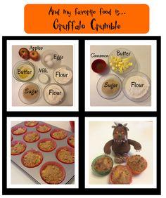 It's Playtime - Recreação em Inglês Cinnamon Butter, Cinnamon Apples, Gruffalo Activities, Book Activities, Tuff Tray, The Gruffalo, Party Planning, Muffin, Sugar