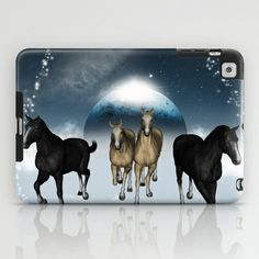 #Horses in the universe #iPad #Case by nicky2342 - $60.00 Ipad Case, Moose Art, Universe, Horses, Cartoon, Animals, Animales, Animaux, Horse