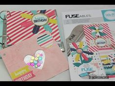 FUSEables collection-Birthday Card Kit We R Memory Keepers - Photo Fuse ...
