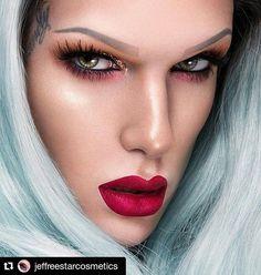 New shade of liquid lipstick Jeffree Star Drag Makeup, Skin Makeup, Beauty Makeup, Hair Beauty, Makeup Lipstick, Jeffree Star, Velour Liquid Lipstick, Makeup Goals, Makeup Inspiration