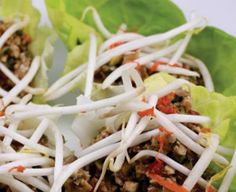 Thai Lettuce Wraps    Ingredients  Wraps:  1 1/2 cups Walnuts  1/2 cup celery, diced  1/2 cup diced carrots  1/2 red bell pepper, diced  1/2 cup fresh Cilantro,minced  1/4 cup Scallions, minced (greens only)  Sauce:  1/4 cup raw wild honey  1/8 cup Nama Shoyu  ½ teaspoon fresh garlic, minced  1 teaspoons fresh ginger, grated  1 Tablespoons hulled sesame seeds  1 Tablespoons Sesame Oil  1 teaspoons red pepper flakes  Garnish:  1 head of Lettuce, Butter, Bib…