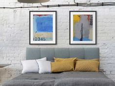 Decorate with framed Vintage Industrial Art   Art Trends and Art Inspiration at FramedArt.com Industrial Home Offices, Industrial House, Vintage Industrial, Industrial Style, Refurbished Desk, Pine Table, Bedroom Decor, Wall Decor, Wooden Stools