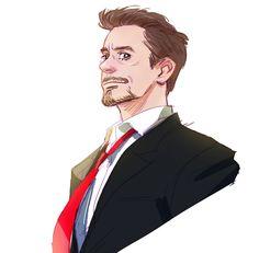 Tony Stark - by hallpen Marvel Fan Art, Marvel Heroes, Marvel Avengers, Poses, Iron Man 2008, Robert Downey Jr., Marvel Drawings, Iron Man Tony Stark, Marvel Characters
