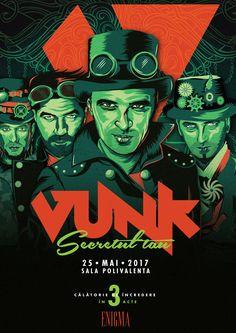 Concert Vunk Concert, Movies, Movie Posters, Art, Art Background, Film Poster, Films, Popcorn Posters, Kunst