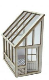 ♕ 1/48th miniature lean-to greenhouse ♥♥♥