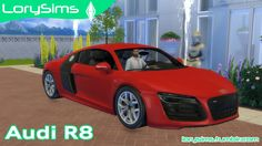 Sims 4 CC's - The Best: Audi R8 V10 by LorySims