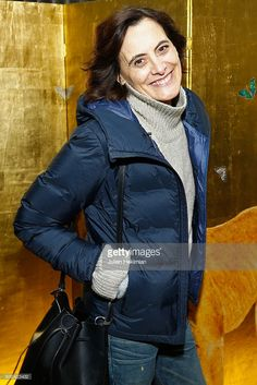Ines de la Fressange attends the 'Retour D'Expedition' Harumi Klossowska de Rola Exhibition With Support Of Van Cleef & Arpels At Ecole Des Arts Joailliers as part of Paris Fashion Week on January 22, 2017 in Paris, France.