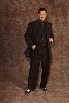 Gomez Striped Suit ::: The Addams Family Costume Rental Archive Costumes Nationwide Shipping  The  Hale Center Foundation for the Arts and Education