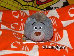 """Petit achat du 12/11/16* provenant de chez Auchan Roncq. ma peluche du lapin Pompon (""""Comme des bêtes""""). Et mes 4 tsummy's Kaa,Baloo,Pluto """"Xmas"""" et Timon."""