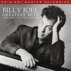 Billy Joel - Billy Joel's Greatest Hits Vol. 1 and 2 on Numbered Limited Edition 180g 3LP from Mobile Fidelity