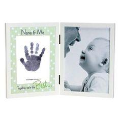 My Daddy or Grandpa\\\'s Hand Print Nana Handprint Frame for