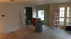 Feb 25 Drywall and ceilings, ready to hang doors