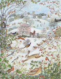 Suffolk Original Paintings For Sale Lucy Grossmith. Landscape Art, Landscape Paintings, Winter Landscape, Vintage Landscape, Lapin Art, Original Paintings For Sale, Original Art, Photo D Art, Naive Art