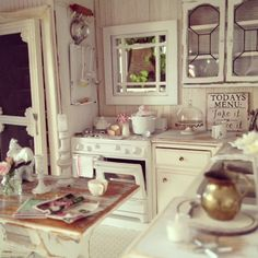 My miniature kitchen 1:12 scale :)