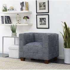 HomeFare Woven Accent Chair