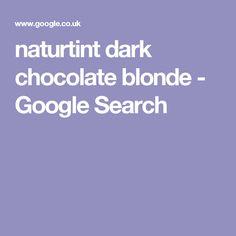 naturtint dark chocolate blonde - Google Search