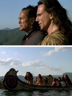 The Last of the Mohicans...absolutely LOVE this movie