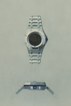 Even as a sketch, the first Royal Oak Offshore was clearly going to be a beast. Rolex, Royal Oak Offshore, Audemars Piguet Royal Oak, Bracelets, Beast, Sketch, Collection, Leather, Sketches