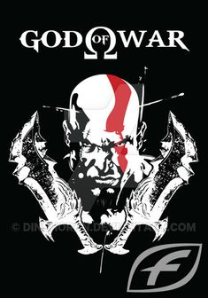 Kratos God Of War, Behind Ear Tattoos, Portfolio, Anime Comics, Nerd, Darth Vader, Fictional Characters, Design, Videogames
