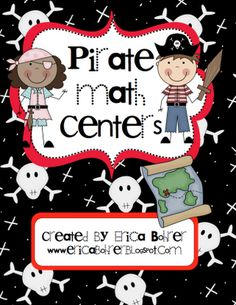 love this pirate themed math centers!!!