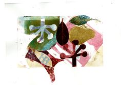 Monoprint Collage Esther Cooper-wood
