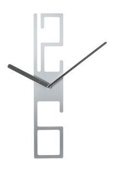 http://www.kitchenstyleideas.com/category/Wall-Clock/ Modern Numeral Wall Clock