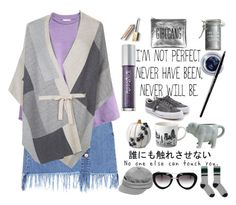 """""""imperfect perfection"""" by peeweevaaz ❤ liked on Polyvore featuring Monsoon, Improvements, Charlene Mullen, Dot & Bo, Sarah Baily, Prada, Urban Decay, Maybelline, Major Moonshine and Burberry"""
