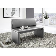 I like the rug and the sleekness of the room Dining Bench, New Homes, Room, Furniture, Carrie, Home Decor, Elegant, Kitchen Inspiration, Banquette Bench