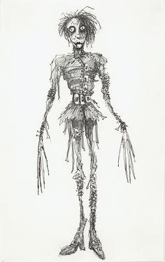 Edward, Mãos de Tesoura by Tim Burton