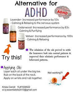 Young Living Essential Oils: ADHD
