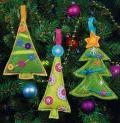 Cheery Trees Ornaments