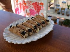 Get Chocolate Almond Mousse Cannoli Recipe from Food Network