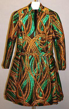 Cocktail dress  James Galanos (American, born Philadelphia, Pennsylvania, 1924)  Date: 1963–67